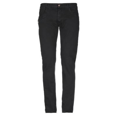 LIU •JO MAN パンツ ブラック 40 コットン 97% / ポリウレタン 3% パンツ