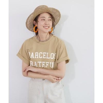 【コカ】英字ロゴプリントTシャツ