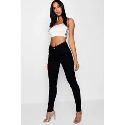 Boohoo レディースデニム Boohoo 5 Pocket Stretch Skinny Jeans black