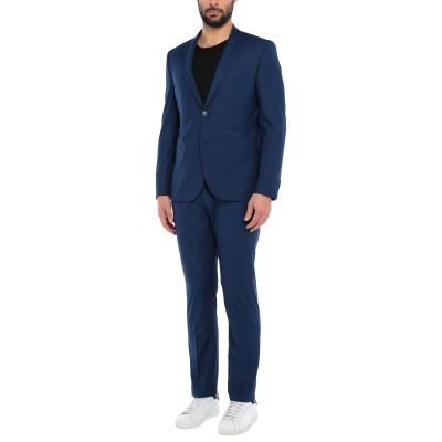 グレイ ダニエレ アレッサンドリーニ GREY DANIELE ALESSANDRINI スーツ ブルー 44 ポリエステル 70% / レーヨン