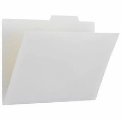 (まとめ)プラス PP個別フォルダー FL-161IF ホワイト 5枚(×20セット) 白  送料無料
