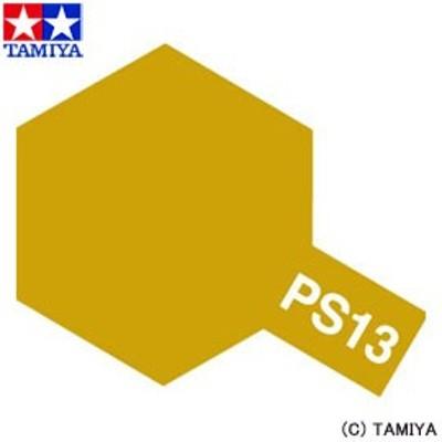タミヤ TAMIYA ポリカーボネート用スプレー PS-13 ゴールド 玩具