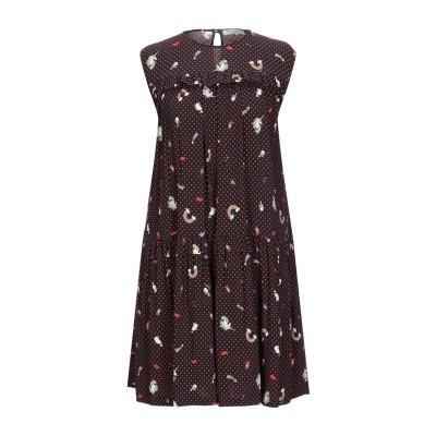 VIVETTA ミニワンピース&ドレス ブラック 44 レーヨン 98% / ポリウレタン 2% ミニワンピース&ドレス