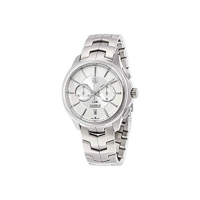 Tag Heuer Link Silver Dial Stainless Steel Mens Watch CAT2111BA0959