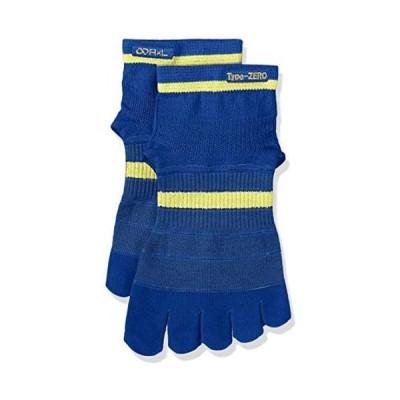 [アールエル ソックス] 靴下 5本指ランニングソックス Type-ZERO 超立体製法 RA-10001 (ブルー L)
