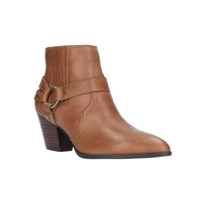 ベラヴィータ ブーツ&レインブーツ シューズ レディース Bronx Booties Camel Burnish Leather