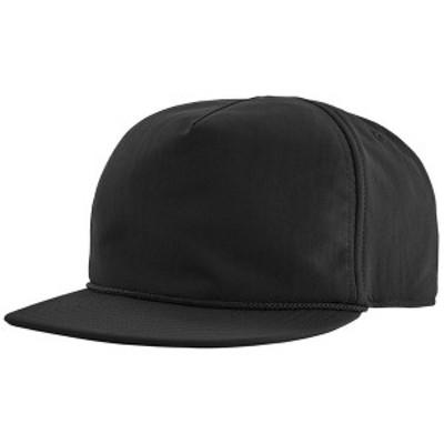 パタゴニア メンズ 帽子 アクセサリー Patagonia Snowfarer Cap Black