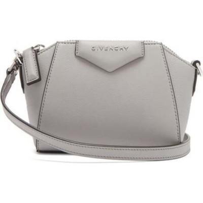ジバンシー Givenchy レディース ショルダーバッグ バッグ Antigona Nano Leather Cross-Body Bag Grey