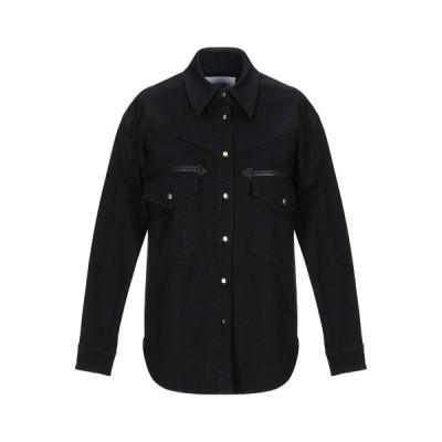ALBERTA FERRETTI デニムシャツ ファッション  レディースファッション  トップス  シャツ、ブラウス  長袖 ブラック