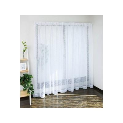 ミラー レースカーテン クルージュ     巾100x丈65cm〜 30  1枚   短い丈