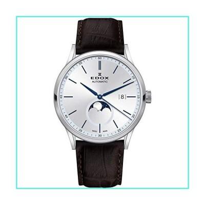 【新品】Edox Gents-Wristwatch Les Vauberts La Grande Lune Date Moonphase Analog Automatic 80500 3 AIBU(並行輸入品)