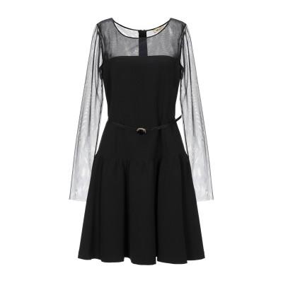 リュー ジョー LIU •JO ミニワンピース&ドレス ブラック 42 ポリエステル 88% / ポリウレタン 12% ミニワンピース&ドレス
