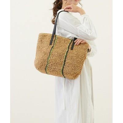 ROOTOTE / ルートート/手編み カゴバッグ LT.ミディアム.クロケット.ライン-A WOMEN バッグ > かごバッグ