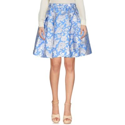エムエスジーエム MSGM ひざ丈スカート アジュールブルー 44 ポリエステル 50% / ナイロン 27% / 金属繊維 23% ひざ丈スカート