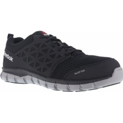 リーボック レディース スニーカー シューズ Women's Reebok Work Sublite Cushion RB041 Work Shoe Black Mesh