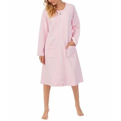 エイレーンウェスト ナイトウェア アンダーウェア レディース Long Sleeve Long Zip Robe Chambray Pink