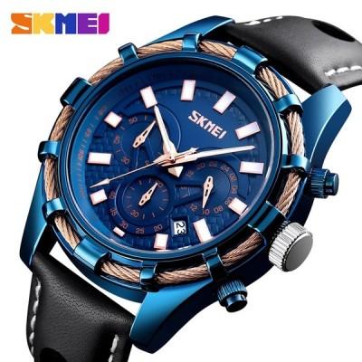 SKMEI メンズウォッチ 防水 腕時計