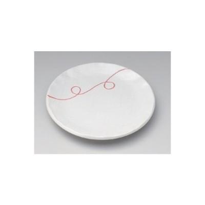 和食器 / 丸組皿 白一珍流水4.0皿 寸法:14 x 1.8cm