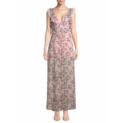 フォーラブ&レモンズ レディース ワンピース Bee Balm Floral Maxi Dress
