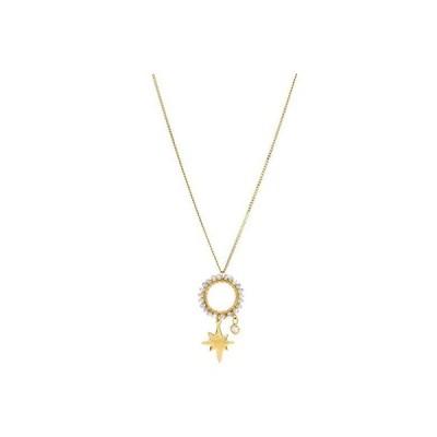 チャン・ルー Starburst Pendant Necklace レディース ネックレス Mystic Labradorite Mix