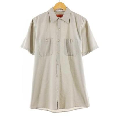 レッドキャップ Red kap 半袖 ワークシャツ メンズM /eaa163818