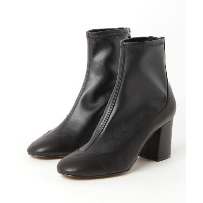DOUBLE STANDARD CLOTHING / ストレッチショートブーツ WOMEN シューズ > ブーツ