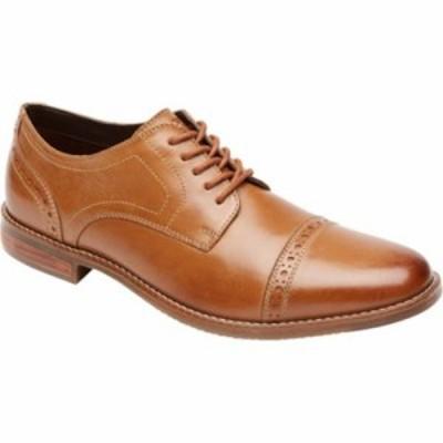 ロックポート 革靴・ビジネスシューズ Style Purpose Cap Toe Oxford Tan Leather