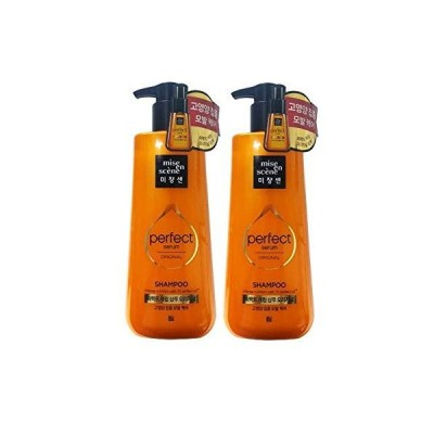[miseenscene] ミジャンセン パーフェクトセラム シャンプー オリジナル 680ml×2本(perfect serum shampoo 6