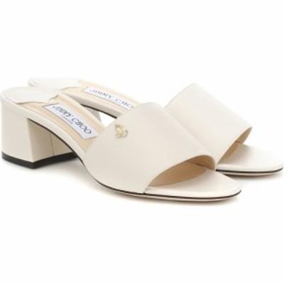 ジミー チュウ Jimmy Choo レディース サンダル・ミュール シューズ・靴 Minea 45 leather sandals Latte