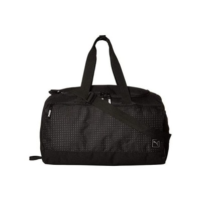 プーマ Evercat Surface Duffel Bag メンズ ダッフルバッグ 旅行バッグ Black/Silver