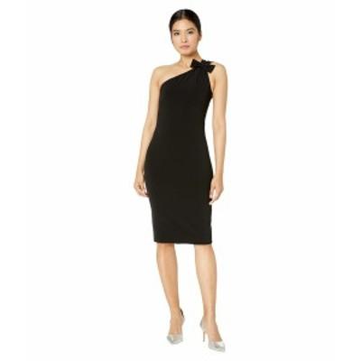 ブティックモスキーノ レディース ワンピース トップス One Shoulder Dress Black