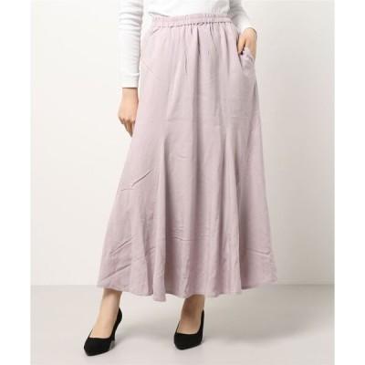 スカート スラリーフレアスカート *