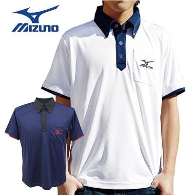ミズノ ゴルフウェア メンズ ポロシャツ ギフト
