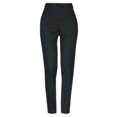E/KOLLINS パンツ ブラック 40 バージンウール 95% / ポリウレタン 5% パンツ
