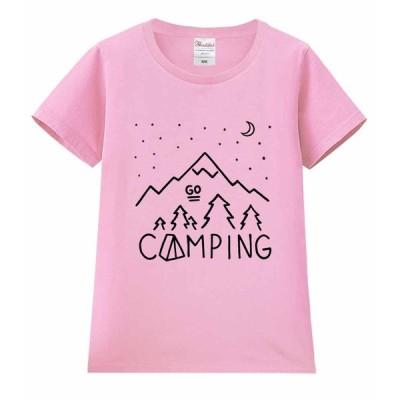 【キャンプ】レディース 半袖 Tシャツ