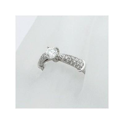 ◆ミウラ◆ダイヤモンド/0.342ct・0.202ct デザイン リング Pt950 9号 仕上済