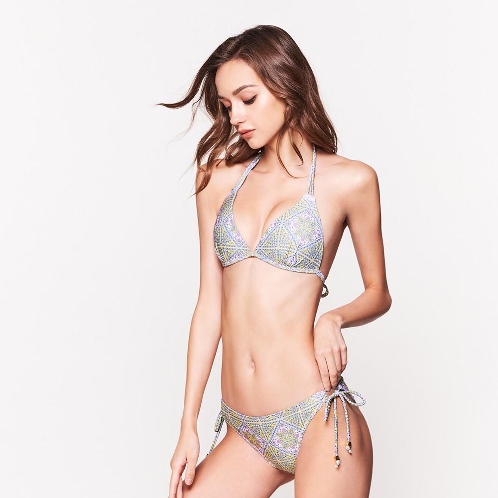 WAVE SHINE-二代 側綁帶美型提臀款泳褲(九色)-女【B5WS019】
