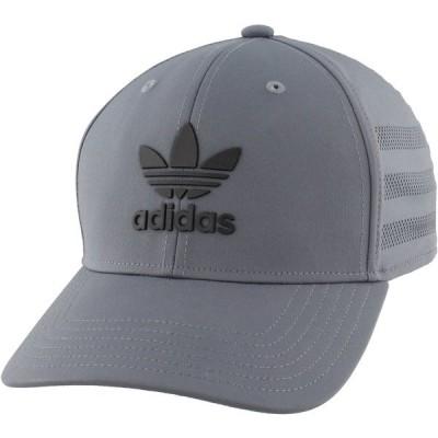 アディダス 帽子 アクセサリー メンズ adidas Originals Men's Beacon II Precurve Snapback Hat Onix/Black