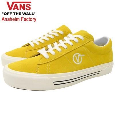 【20%OFF】バンズ スニーカー VANS メンズ 男性用 シド DX OG Yellow/Suede アナハイム ファクトリー (VN0A4BTXXMC Sid DX Anaheim Factory)