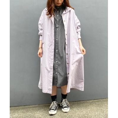 AS KNOW AS PLUS / ☆ハイネックシャツコート WOMEN ジャケット/アウター > トレンチコート