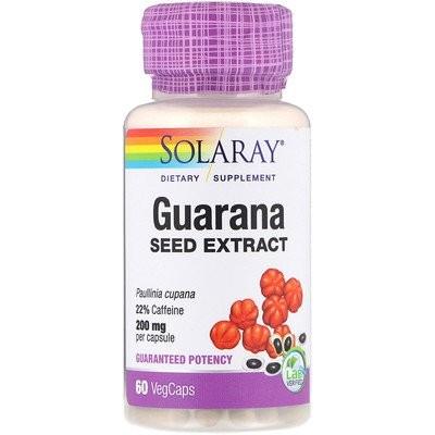 ガラナシードエキス、200mg、植物性カプセル60錠
