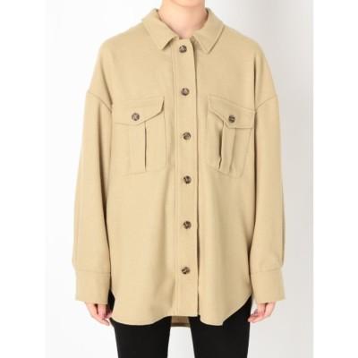 オーバーサイズシャツ (BGE)