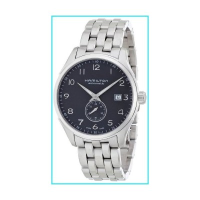 Hamilton Men's Jazzmaster Swiss-Automatic Watch with Stainless-Steel Strap, Silver, 20 (Model: H42515135)【並行輸入品】