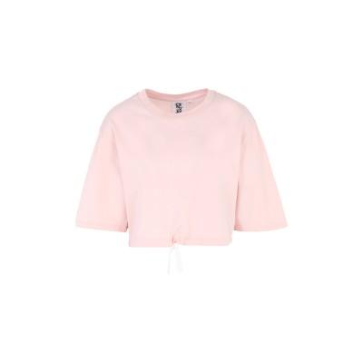 LES GIRLS LES BOYS T シャツ ライトピンク XS コットン 100% T シャツ