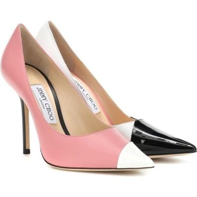 ジミー チュウ Jimmy Choo レディース パンプス シューズ・靴 love 100 leather pumps Black White Candyfloss