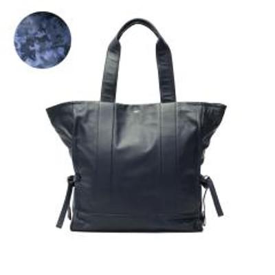 aniaryアニアリ aniary トート トートバッグ 本革 A4 ガーメントレザー Garment Leather Tote Bag レザー バッグ おしゃれ メンズ レディース 19-02000 ネイビー