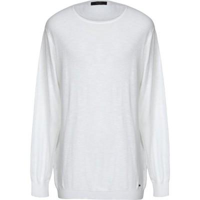 リウジョー LIU JO MAN メンズ ニット・セーター トップス sweater White