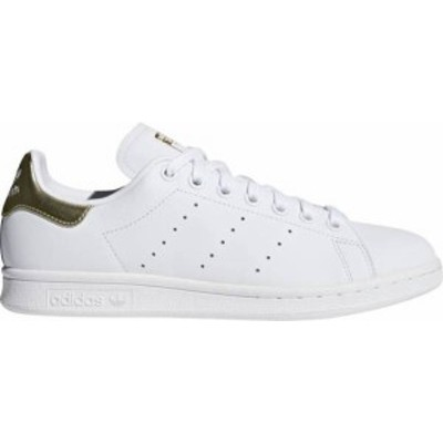 アディダス レディース スニーカー シューズ adidas Originals Women's Stan Smith Shoes White/Gold