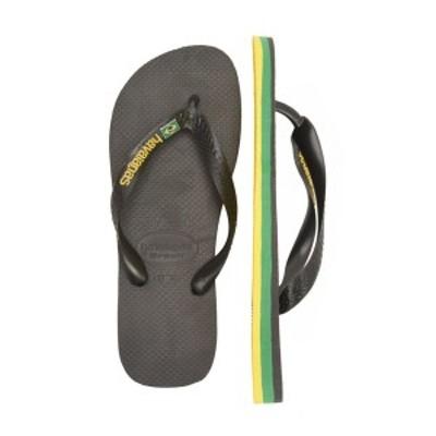 ハワイアナス メンズ サンダル シューズ BRASIL LAYERS UNISEX - Pool shoes - black black