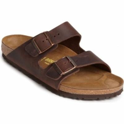ビルケンシュトック BIRKENSTOCK メンズ サンダル スライドサンダル シューズ・靴 Arizona Slide Sandal Habana Oiled Brown